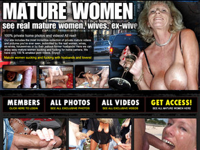 Our site includes the most incredible collection of private mature videos and pictures you've ever seen, submitted by the real women, wives, ex-wives, housewives or by their jealous former husbands! Here we can enjoy sexy mature women sucking and fucking for home camera. We have only 100 % amateur porn videos. Enjoy!